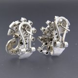 Witgouden oorbellen met 1.40 ct diamant_