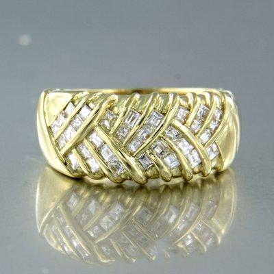 LENTI - gouden ring met 1.50 ct diamant