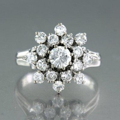 Gouden ring met 1.48 ct diamant